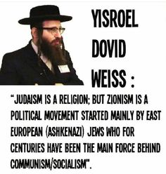 Hard to believe so many US Jews embrace socialism. Ashkenazi Jews, World Religions, Know The Truth, Truth Hurts, New World Order, Socialism, Judaism, History Facts, Oppression