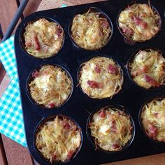 Greenway36: Kartoffel-Käse-Nester ~ Nids de tartiflette nach Rachel Khoo
