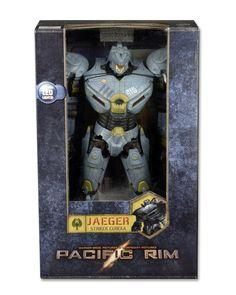 """Pacific Rim 18"""" Striker Eureka."""