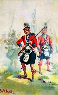Fortieth Regiment of Foot, 1776