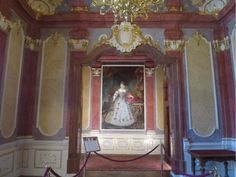 The room of Maria Theresa