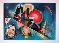 Giclee Print: Im Blau, 1925 by Wassily Kandinsky : Wassily Kandinsky, Kandinsky Prints, Abstract Shapes, Abstract Art, Geometric Shapes, Framing Canvas Art, Painting Prints, Art Prints, Paintings