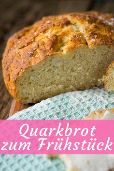 Super super lecker - Quarkbrot oder Quarkbrötchen ganz einfach selber backen