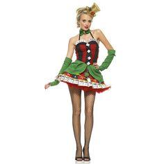 Disfraz de Señorita de la suerte Leg Avenue Lady luck woman costume Practica tu cara de póquer para cuando te pongas nuestro traje de Señorita de la Suerte!