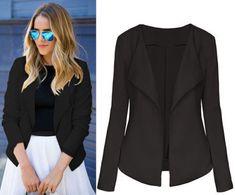 Ladies Blazer Women Slim Casual Jacket Business Formal Work Wear Women's Suit Office Ladies 2017. Yesterday's price: US $14.85 (12.05 EUR). Today's price: US $12.62 (10.24 EUR). Discount: 15%.