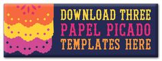 Free papel picado template - mexican festivals holidays https://happythought.co.uk/day-of-the-dead/how-to-make-papel-picado