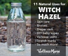 Witch hazel is a wonderful multi-purpose skincare ingredient that helps relieve itching, reduce acne, relieve varicose veins and more!