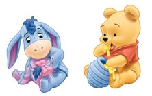 Baby Pooh images Baby Pooh and Eeyore wallpaper and background photos