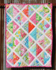 Queen size shift dress quilt made with Lilly pulitzer fabric ... : lilly pulitzer quilts - Adamdwight.com