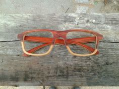 Wooden optical frame