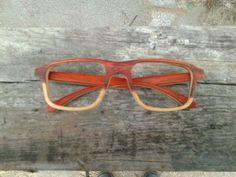 Wooden optical frame