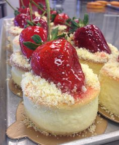 Strawberry cheesecake - just what you need for the 4th of July!