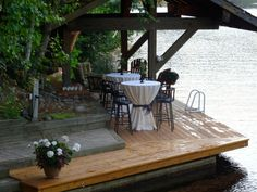 High Tops with rounds and sashes Sash, High Tops, Tables, Patio, Outdoor Decor, Home Decor, Mesas, Terrace, Table