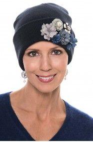 10cc39a77d5 Gemma 3D Flower Cuff Beanie Hat