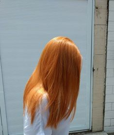 Orange Wigs Yellow Wigs Lace Frontal Bonded Hair Extensions Near Me Double Drawn Remy Hair Xq Remy Hair Cheap Wigs Ginger Hair Color, Hair Color Dark, Medium Hair Styles, Natural Hair Styles, Long Hair Styles, Cheveux Oranges, Strawberry Blonde Hair, Blonde Orange Hair, Burnt Orange Hair