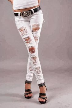 Must have these jeans!!!!!! these would look so good with boots or heels.