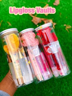 Lip Gloss Homemade, Diy Lip Gloss, Lip Gloss Colors, Lip Gloss Set, Lip Gloss Containers, Diy Gifts To Sell, Business Baby, Business Ideas, Lip Care