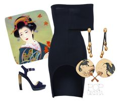 """""""Geisha"""" by engleann ❤ liked on Polyvore featuring STELLA McCARTNEY, Jimmy Choo, Roberto Coin and Yumi"""