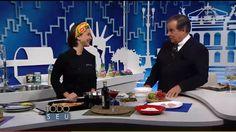#healthyfood #healthyrecipe #cozinhanutritiva #comidadeverdade #saudavelsemneura Chef Izabela Braga no programa Todo Seu | Ronnie Von | TV Gazeta | Dezembro de 2015.