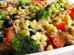 As receitas lá de casa: Salada de massa com atum