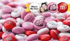 Create personalized M&M's party favors and gifts for birthdays, weddings, graduations, baby showers, and more
