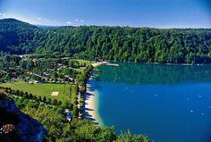 Domaine De Chalain - Jura - Camping Holiday