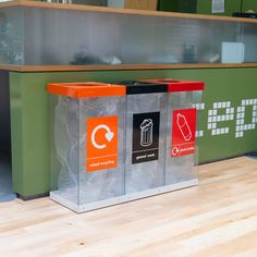 The Box Cycle Triple Recycling Bin has three bodies inside one base, with three individual lift off lids. A choice of 60 or 80 litre bodies are available. Signage Light, Trash Bins, Recycling Bins, Vacuum Forming, Box Design, Plastic Bottles, Helpful Hints, Bodies, Branding