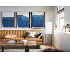 """Room & Board - Wells 89"""" Sofa"""