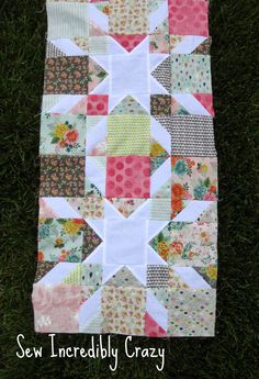Sew Incredibly Crazy: Fat Quarter Shop Star Crossed