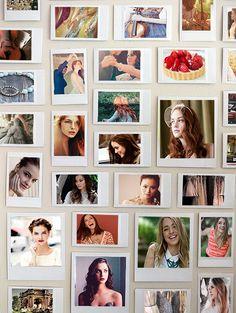 eadrikschreave: Maxon Schreave Week: Day 3: Maxon's Polaroid Wall (insp.) happy birthday Maxon !