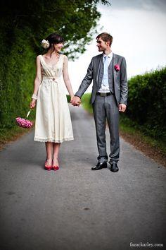 I love tea-length dresses