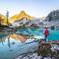 Watersprite Lake near Squamish, British Columbia, Canada Canada Destinations, Amazing Destinations, Canadian Travel, Lake Photos, Western Canada, O Canada, Newfoundland And Labrador, Alaska Cruise, British Columbia