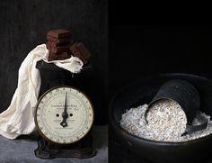 Dark Chocolate Oat Walnut Pudding {eggless} - Passionate About Baking