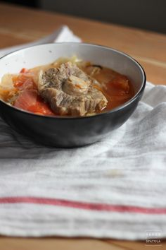 Oxtail Soup | Saucy Spatula
