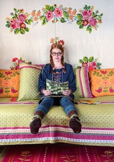 """""""Muhu"""" cotton fabric – Inspired by Muhu – GUDRUN SJÖDÉN – Webshop, mail order and boutiques 