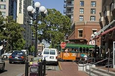 Gas Lamp District, San Diego  Californias Big Easy