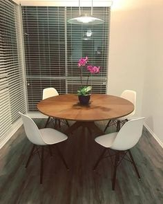 Absolutely Loving Our New Dining Room Table! #article #orchids #conantable  #home #losangeles