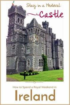 Stay in a Castle   Travel Ireland   Cong   Ireland   Ashford Castle   Where to Stay in Ireland