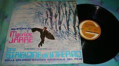 popsike.com - MAURICE JARRE-UNA STAGIONE ALL'INFERNO GENERAL MUSIC ZSLGE 55061 ANNO 1971 - auction details