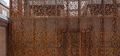 Bardage de façade métallique / en acier Corten - MUNICIPAL BUILDING by Østergaard Arkitekter A/S - RMIG