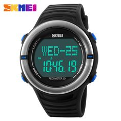 Men Heart Rate Monitor Fitness Tracker Healthy Fit Pedometer Sports Watches Women Digital Watch Relogio Masculino Wristwatches