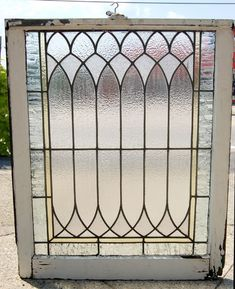 61 Ideas bathroom window stained glass for 2019 Antique Stained Glass Windows, Stained Glass Door, Leaded Glass Windows, Antique Windows, Stained Glass Designs, Stained Glass Projects, Stained Glass Patterns, Antique Glass, Glass Doors