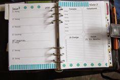 Mein Jahres-Planer mit Freebie für 2015(Wochenkalender Wochenplan Migränekalender Menstruationskalender Geburtstagskalender Trainingsplan)