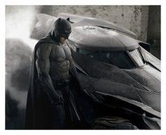 First Official Image Of Ben Affleck's BATMAN v SUPERMAN Suit...In Color!