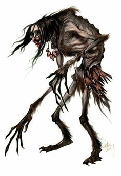 The wendigo is a cannibalistic demon that hungers for the flesh of magical humans. It is actually a spirit that possesses and warps the body of it's victims. Once the host begins to rot, it will seek out a new body to prevent its own death.