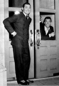 Clark Gable and Robert Taylor