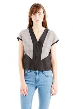 RUTH TOP V1 - SS15 Womenswear, Tops / Tee-shirts - Surface to Air online store