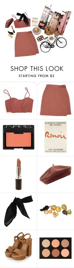 """""""Untitled #77"""" by artsydeer ❤ liked on Polyvore featuring CO, Theory, NARS Cosmetics, Accessorize, TC Fine Intimates, Topshop, Anastasia Beverly Hills, love, travel and paris"""
