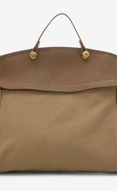 Furla Brown, Tan And Black Shoulder Bag