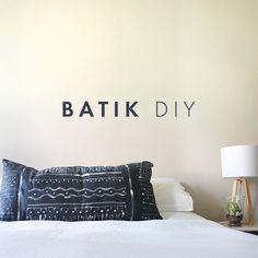 Batik diy - yes please!